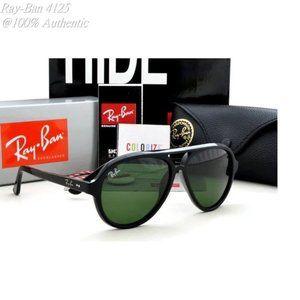 Ray-Ban RB4125 Polarized Comfortable Sunglasses 59MM